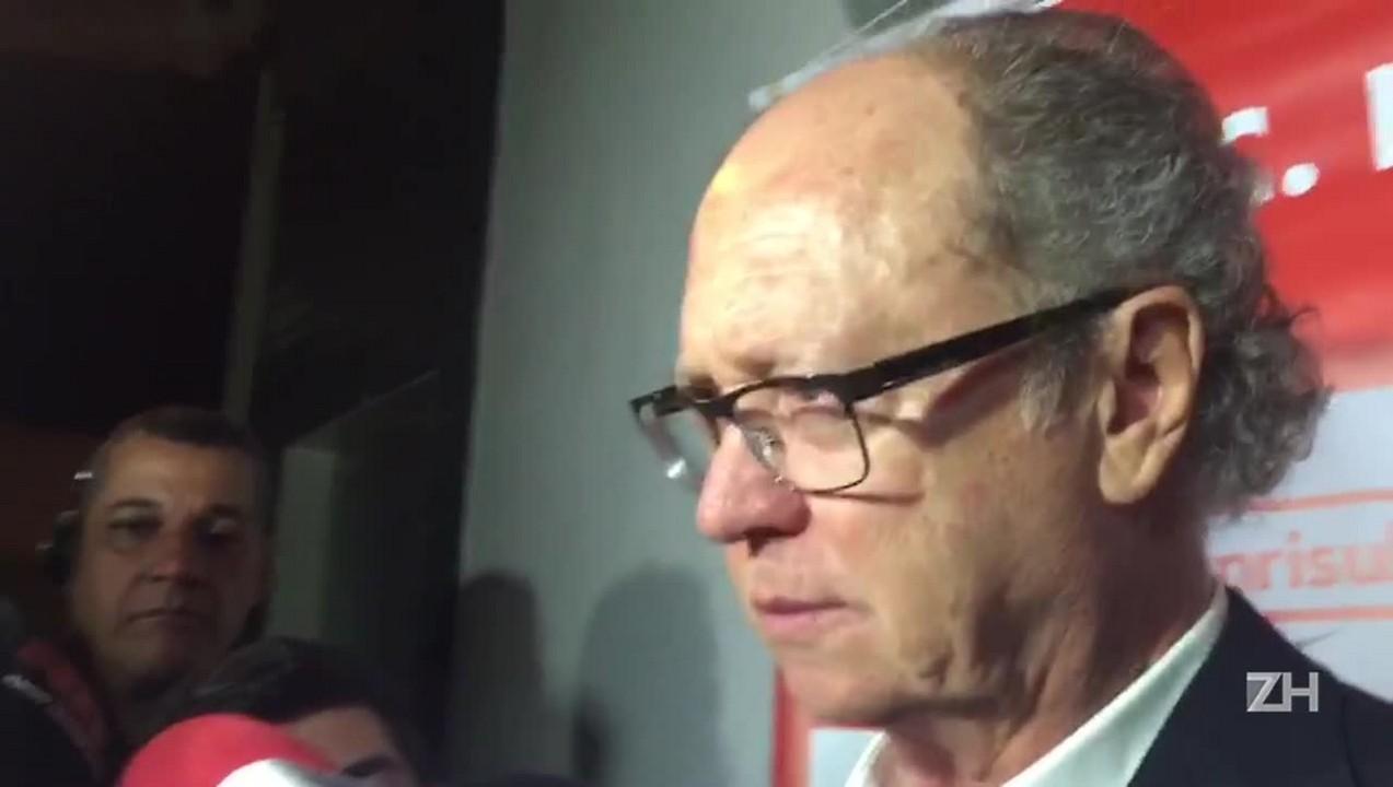 Falcão fala após a derrota em Belo Horizonte