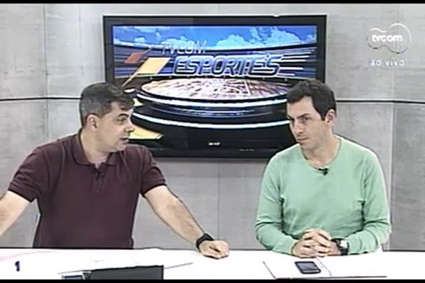 TVCOM Esportes. 2º Bloco. 06.09.16