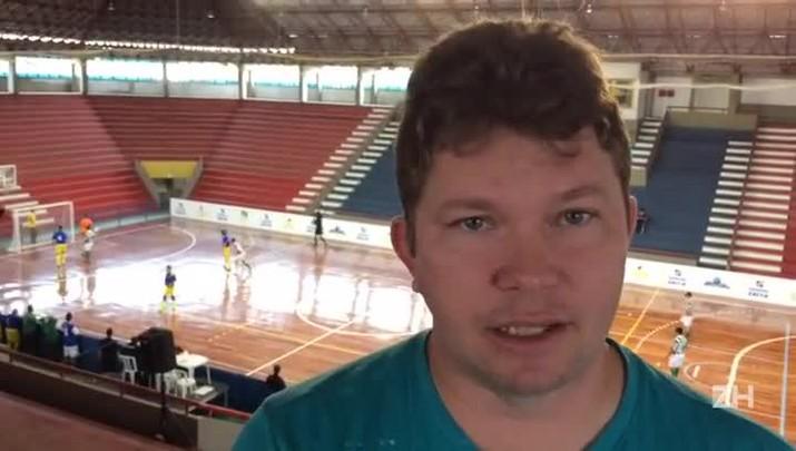 Fábio Luiz, técnico da seleção brasileira de Futebol de 5, fala sobre prospecção