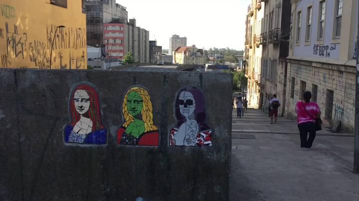Veja algumas das Mona Lisas espalhadas pela cidade