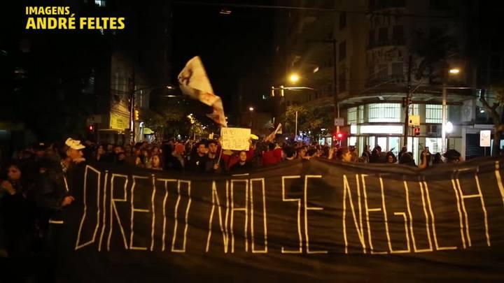 Greve geral teve protestos e confrontos em Porto Alegre
