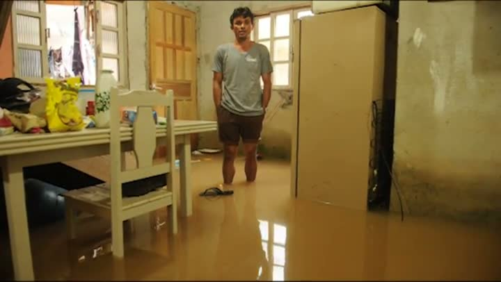 Chuva em Palhoça