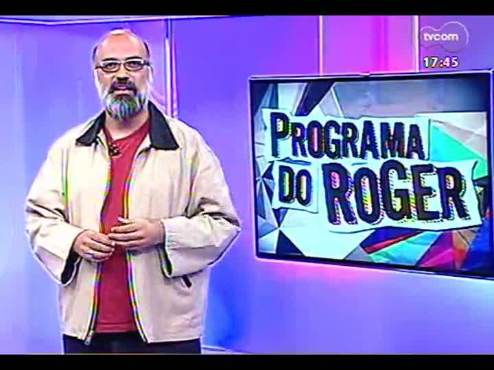 Programa do Roger - Nani Medeiros canta Elis Regina - bloco 1 - 22/04/2013