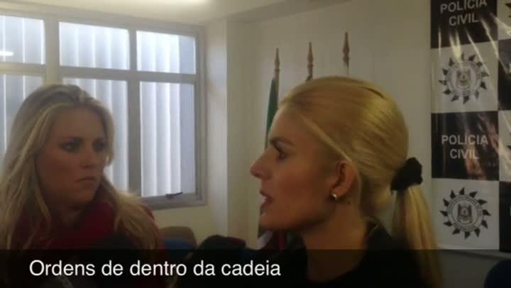 Delegada explica como agia quadrilha de traficantes em Guaíba. 16/05/2013