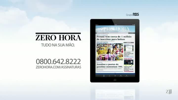 Leia na Zero Hora desta sexta-feira (09/08/2013)