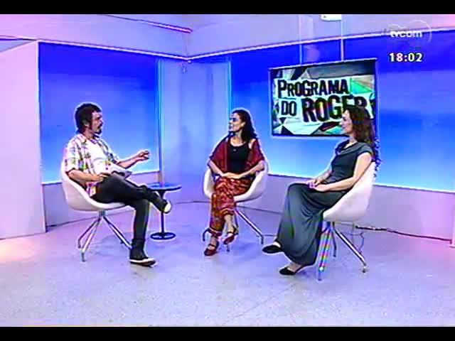 Programa do Roger - Tânia Baumann e Kátia Cecarelli da Porto Alegre Cia de Dança - bloco 2 - 11/09/2013