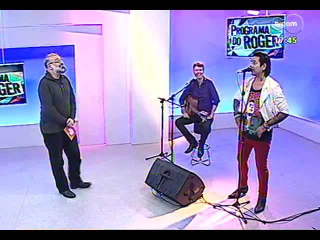 Programa do Roger - Conversa com a banda DeFalla - bloco 1 - 04/10/2013