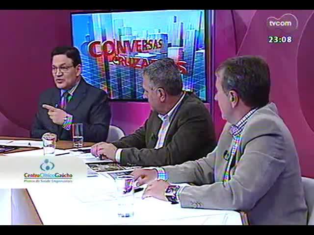 Conversas Cruzadas - Em debate, a avaliação do caos trazido pelas chuvas e alagamentos na Região Metropolitana - Bloco 4 - 24/10/2013