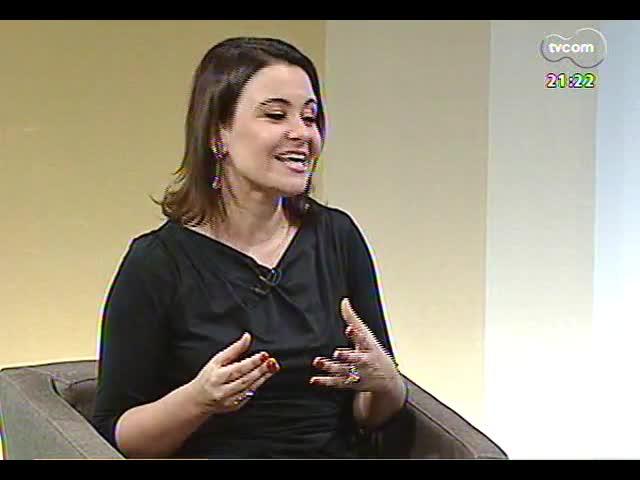 TVCOM Tudo Mais - 18 anos da TVCOM: Simone Lazzari, André Azeredo, Rodaika, Paola Vernareccia e Sabrina Thomazi