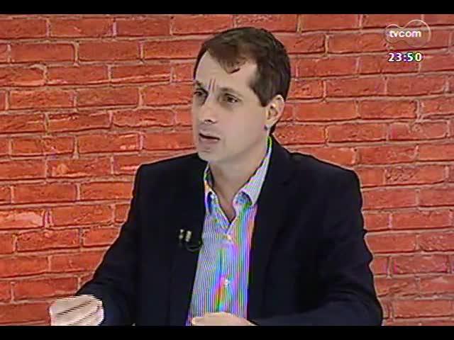 Mãos e Mentes - Promotor de Justiça, responsável pela Operação Leite Compensado, Mauro Rockembach - Bloco 2 - 12/11/2013