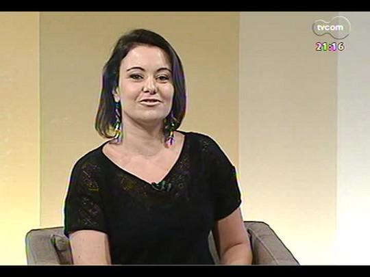 TVCOM Tudo Mais - Exposição em POA mostra superação na luta contra o câncer