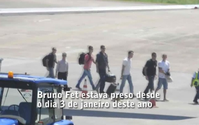 Presidente de torcida organizada do Vasco chega a Joinville