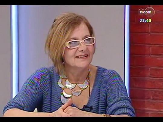 Mãos e Mentes - coordenadora do Coletivo Feminino Plural e jornalista Telia Negrão - Bloco 3 - 22/04/2014