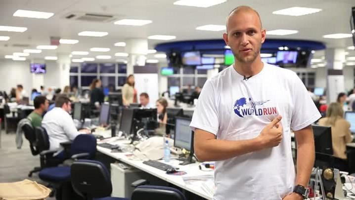 Editor do Hora e corredor, Rodrigo Stüpp reforça o time da RBS na Wings For Life World Run