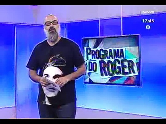 Programa do Roger - Banda Ian Ramil - Bloco 1 - 21/05/2014