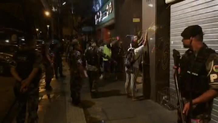 BM realiza operação para coibir crimes em torno de bares do Centro de Porto Alegre