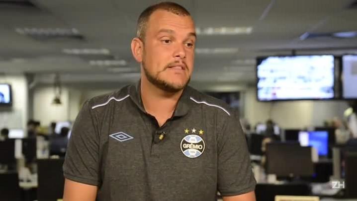 Três perguntas para Luiz Gabardo, novo técnico do Sub-19 do Grêmio