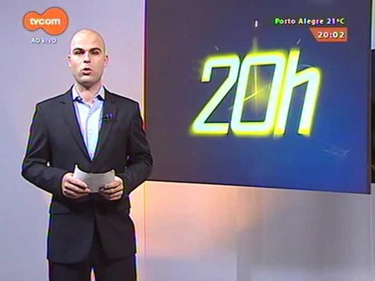 TVCOM 20 Horas - Obras da sede da OSPA estão paradas há nove meses após empresa vencedora da licitação discordar de valores orçados - 19/05/2015