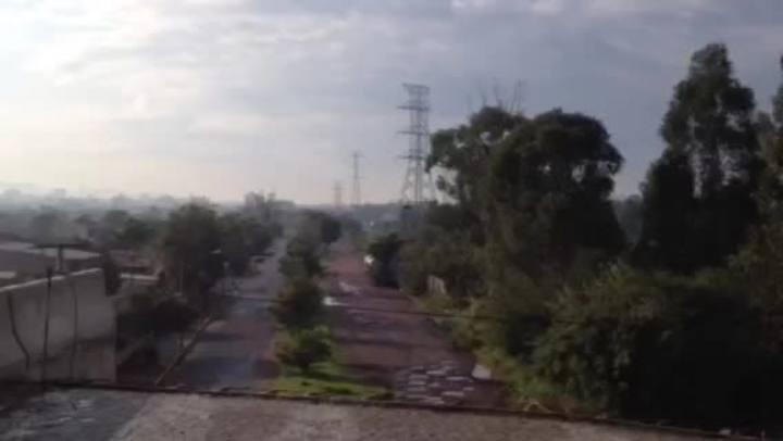 Viaduto que ligará a BR-448 ao Parque de Exposições em Esteio não tem previsão de conclusão