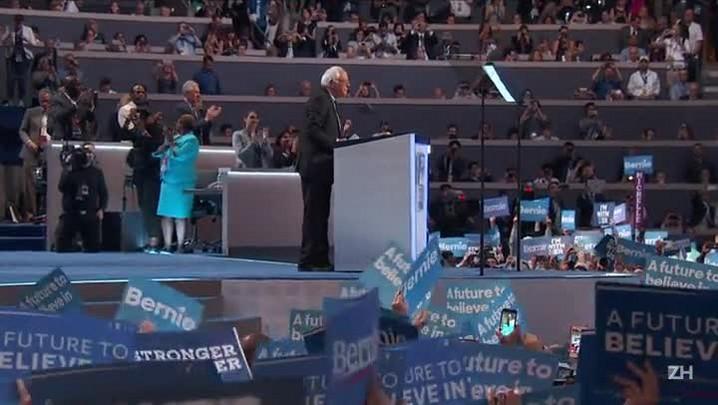 Sanders diz que Hillary tem de ser presidente