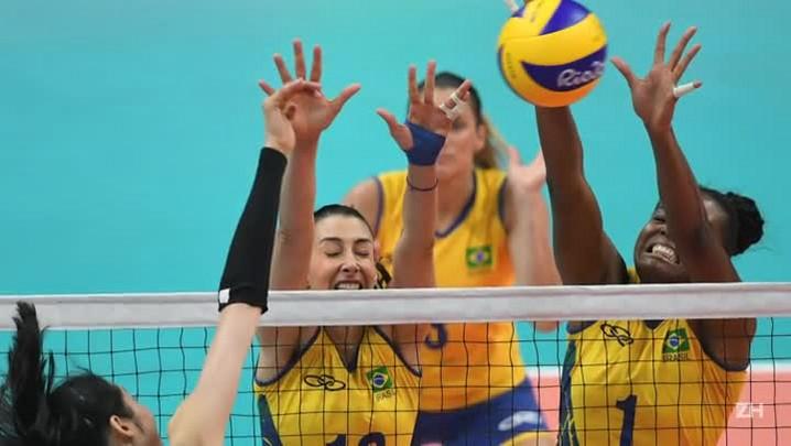 Vôlei feminino: Brasil perde e está fora dos Jogos