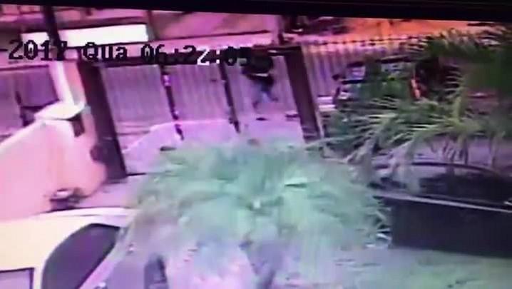 Câmeras registram assassinato de tenente da Reserva em Alvorada