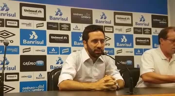 Zanotta é apresentado como gerente-executivo do Grêmio