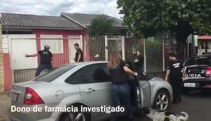 Preso em Gravataí proprietário de farmácia investigado por venda de remédios sem procedência