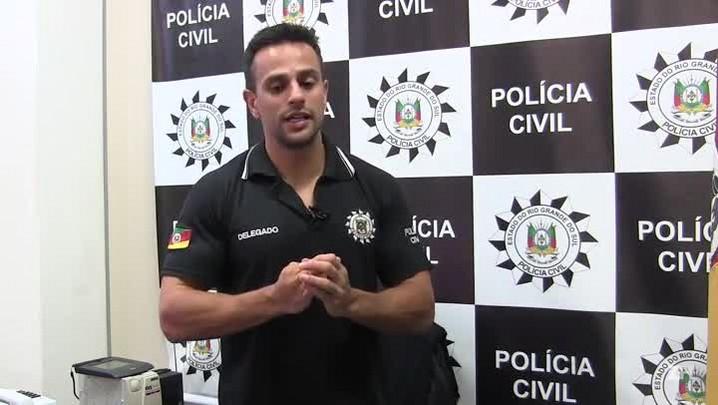 Delegado explica a relação entre os presos que financiaram a fuga em massa do Presídio Central
