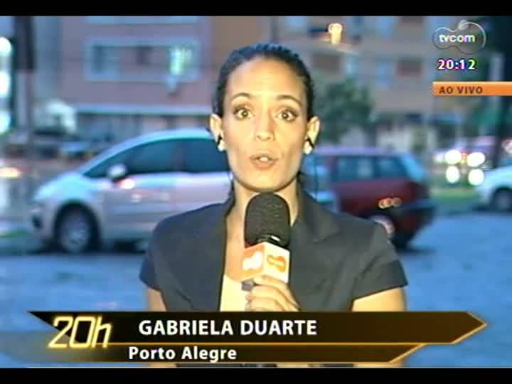 TVCOM 20 Horas - 07/01/13 - Bloco 2 - Concepa estuda usar o acostamento da Freeway para diminuir engarrafamentos