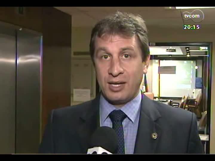TVCOM 20 Horas - Deputado Ernani Polo fala sobre a nova reunião da CPI da Telefonia - Bloco 2 - 13/05/2013