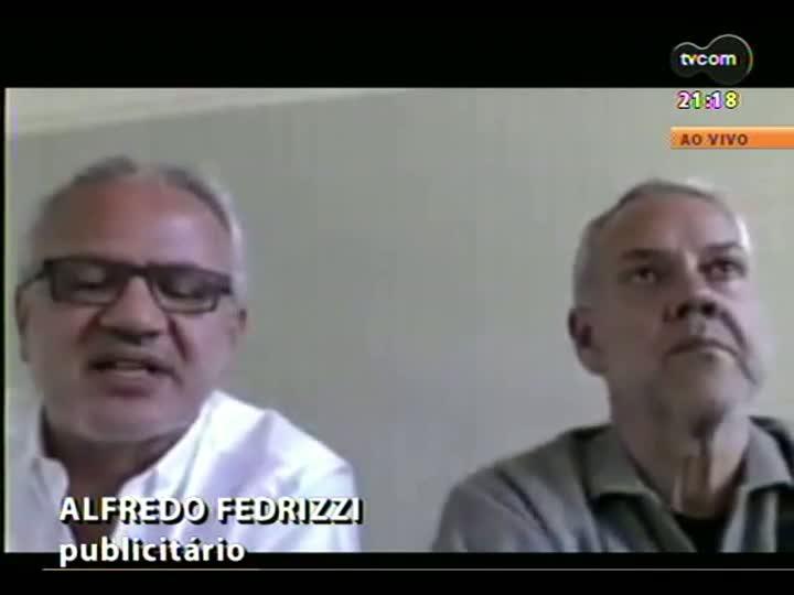 TVCOM Tudo Mais - Gaúchos conversam, via skype, sobre o projeto de trazer ideias do Estados Unidos para aplicar no RS