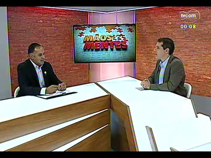 Mãos e Mentes - Diretor-superintendente da Kinder, Solimar Amaro - Bloco 4 - 12/07/2013