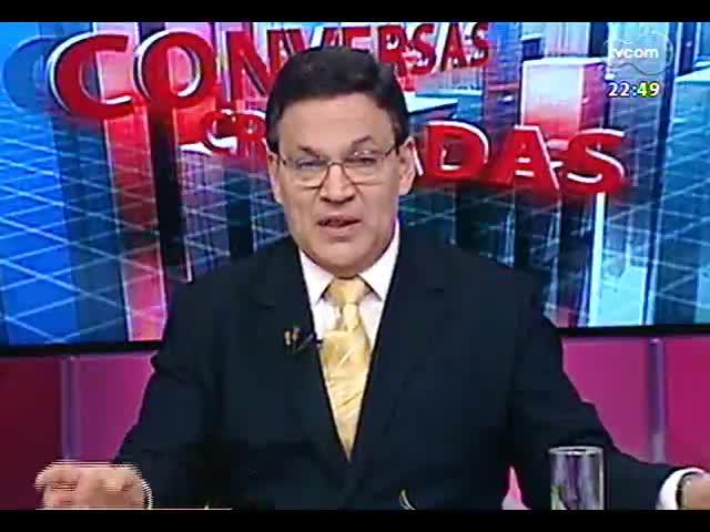 Conversas Cruzadas - Debate sobre o projeto de revitalização da orla do Gauíba - Bloco 3 - 16/10/2013