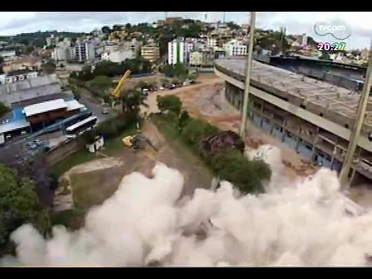 TVCOM 20 Horas - Informações sobre a etapa que antecede a implosão do Olímpico - Bloco 3 - 28/11/2013