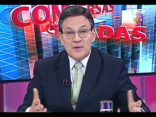 Conversas Cruzadas - Por que a taxa de juros no Brasil é tão maior do que a de outros países da América Latina? - Bloco 3 - 22/01/2014