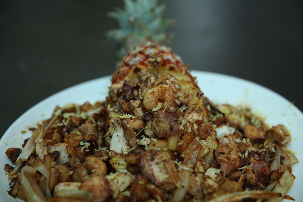Receita Gastrô: torô de congrio com camarão e polvo