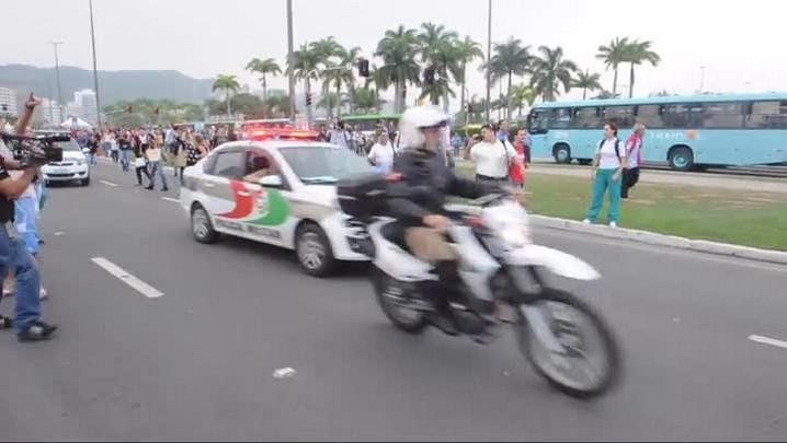 Motorista é preso após atropelar duas mulheres no centro da capital