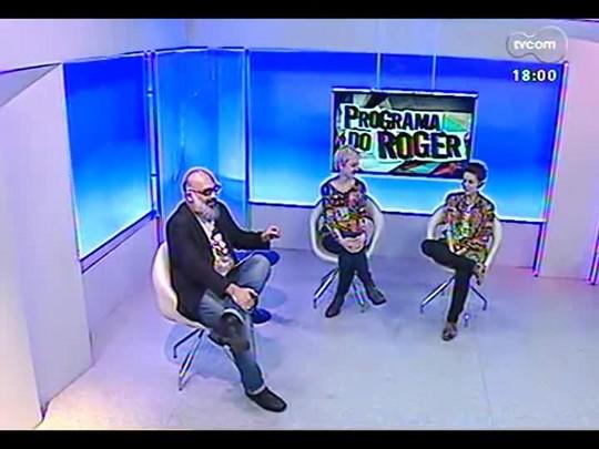 Programa do Roger - Nanni Rios e Pam Magpalli falam sobre o espaço cultural Aldeia - Bloco 2 - 16/07/2014
