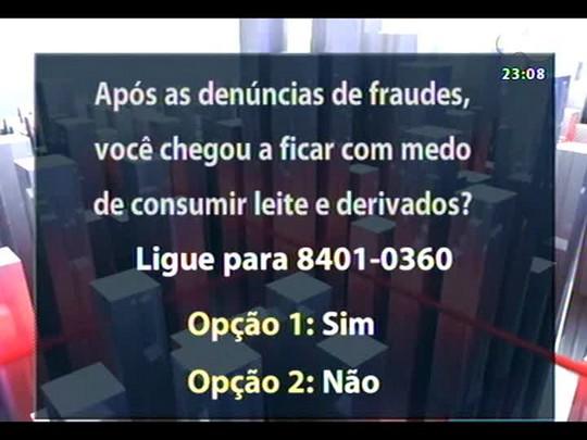 Conversas Cruzadas - Fraude do leite chega a Santa Catarina - Bloco 3 - 19/08/2014