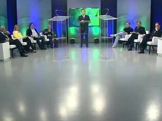Eleições 2014 - Debate entre os candidatos ao Senado - bloco 1