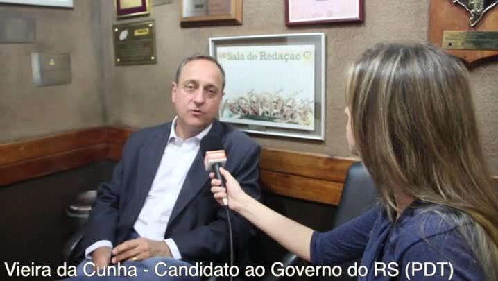 """Fala candidato: \""""Nos esforçamos para resgatar a credibilidade da política\"""", diz Vieira"""