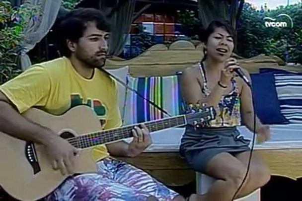 TVCOM Tudo+ - Entrevista com a dupla do acústico Oriente Soul - 1.1.15
