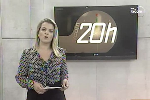 TVCOM 20h - Fechamento do acesso ao porto de Itajaí resultou em 500 mil dólares em perdas - 5.1.15