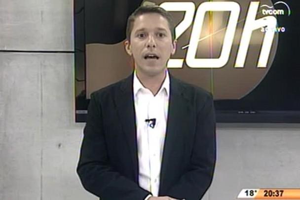 TVCOM 20 Horas - A Prefeitura de Florianópolis lançou o Plano de Ação Sustentável - 02.07.15