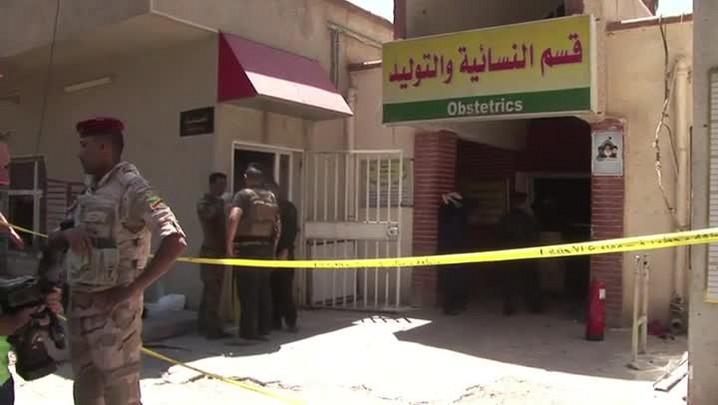 Incêndio em hospital de Bagdá mata 12 recém-nascidos