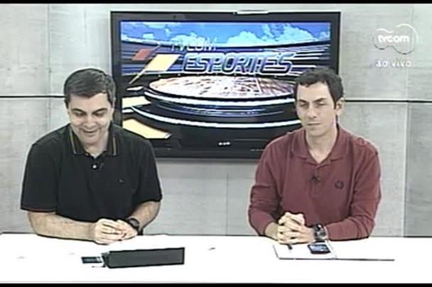 TVCOM Esportes. 4º Bloco. 25.08.16