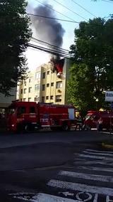 Incêndio queima mais da metade de apartamento em Santa Maria