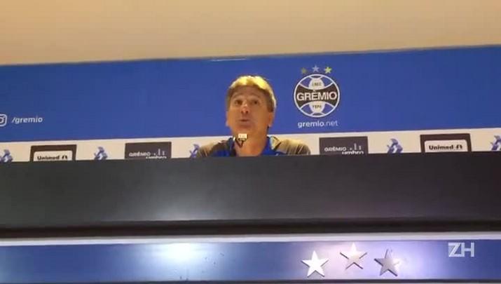 "Renato: \""O Grêmio foi muito superior o tempo todo\"""