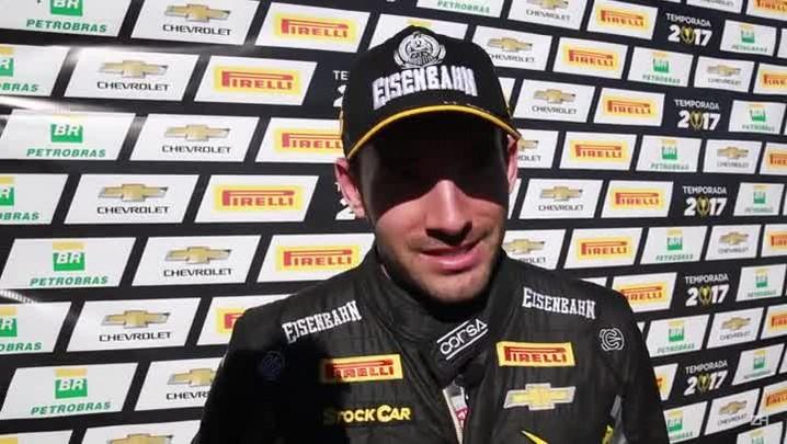 Vitor Genz fala sobre vitória na etapa de Cascavel da Stock Car